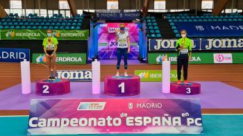 La atleta se ha llevado el oro y su antiguo club madrileño se muestra orgulloso del logro