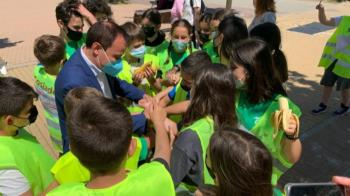 La iniciativa se desarrolló durante las dos últimas semanas de mayo y participaron el CEIP El Olivo y IES Luis García Berlanga