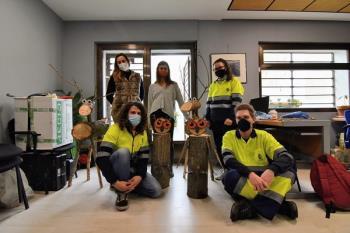 Han colaborado, durante estos meses, en tareas de jardinería, paisajismo y educación ambiental