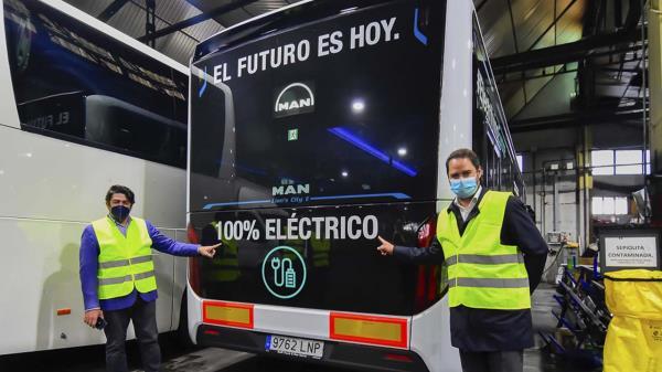 Los autobuses de hidrógeno llegan para quedarse
