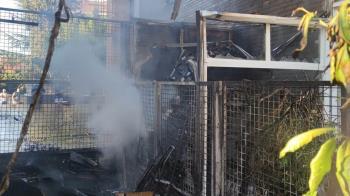 En el incendio no se ha producido ningún daño humano
