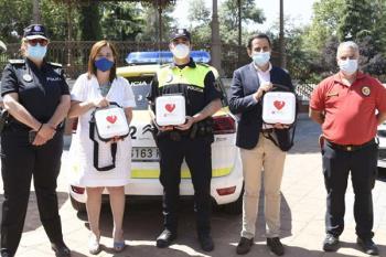 Estas nuevas incorporaciones se suman a los instalados en las ambulancias hace unos días