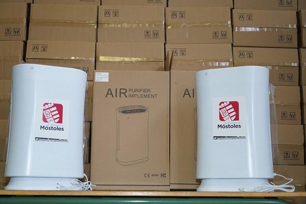 La instalación de los sistemas permitirá que, en pleno temporal de frío, los centros aseguren la filtración del aire