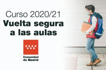 La Comunidad de Madrid retrasa la apertura de los centros educativos dos días y las horas lectivas se recuperarán en junio