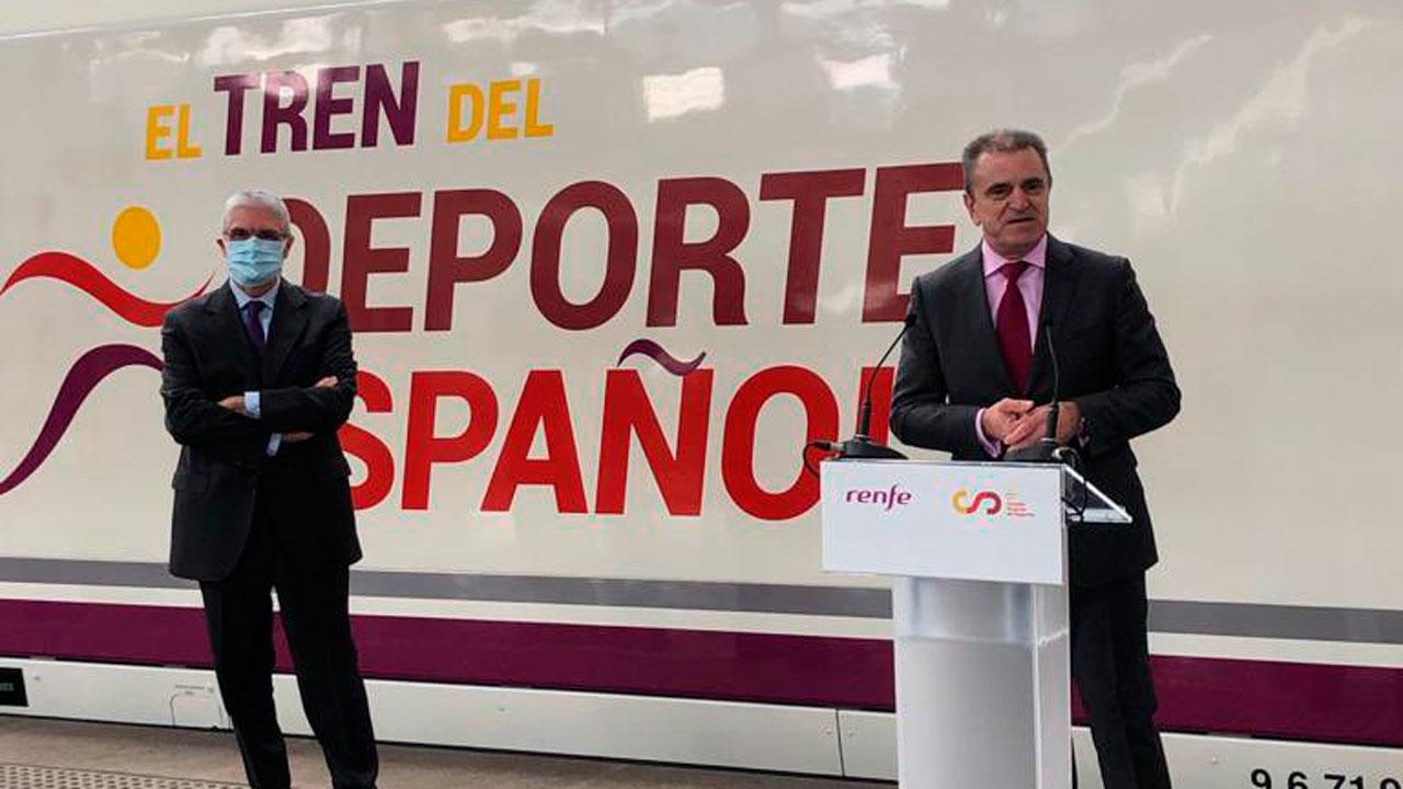 Así lo ha expresado el presidente del Consejo Superior de Deportes, José Manuel Franco