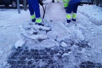 Además el Ayuntamiento avisa de la alerta por frío en los próximos días