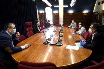 La alcaldesa, Susana Pérez Quislant, ha mantenido una reunión con ellos