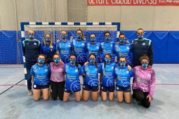 El equipo femenino se estrenó con victoria, mientras que el masculino no pudo contra el Leganés