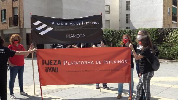 Los interinos dentro del gobierno municipal van a la huelga a partir de este viernes