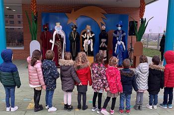 Los Magos de Oriente han visitado todos los colegios de Coslada