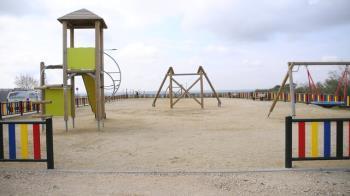 Se encuentran situados en Cortijo Norte y cuentan con diversos elementos de juego