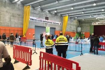 Las pruebas se realizaron el 26, 27 y 28 de octubre en el Pabellón Deportivo Cultural del municipio
