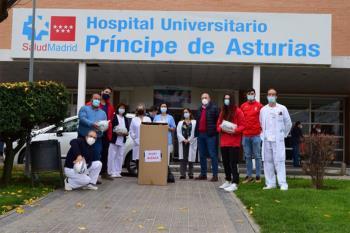 El Club de Rugby Alcalá volvió a mostrar un gran gesto solidario