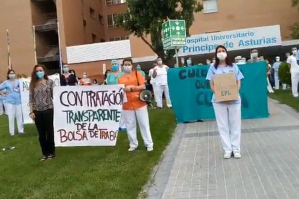 Los sanitarios se reúnen para luchar por la Sanidad Pública