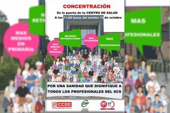 CCOO, CSIT UNIÓN PROFESIONAL y UGT se suman a las convocadas para el 20 y 29 de octubre