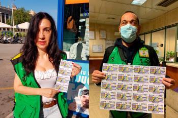 19.000 vendedores de cupones vuelven a sus trabajos tras el confinamiento