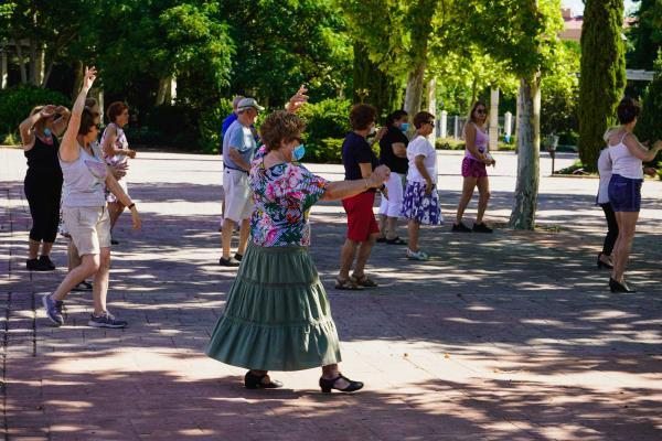 Los talleres para mayores de Móstoles se reactivan con medidas de seguridad
