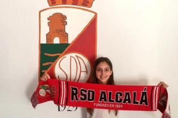 Por ser la primera jugadora en sumarse al proyecto femenino de la RSD Alcalá