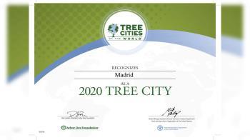 La capital ha logrado de nuevo la distinción intencional por parte de la FAO y la Fundación Arbor Day