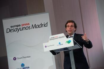 Así lo ha anunciado el alcalde de la capital, José Luis Martínez-Almeida