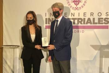 El premio ha sido otorgado por el Colegio de Ingenieros Industriales de Madrid