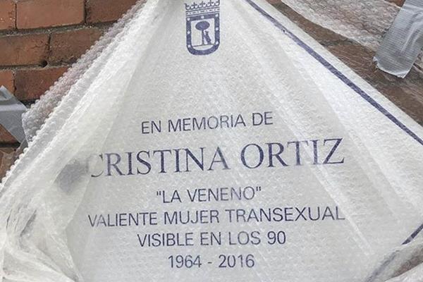 Madrid repondrá la placa en honor a La Veneno en el parque del Oeste