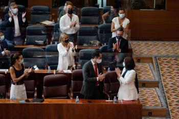 El Gobierno regional anuncia la creación de una línea de atención telefónica 112 Okupación
