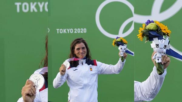La española obtuvo la plata en la prueba de eslalon, logrando su tercera medalla de su palmarés olímpico