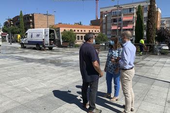 El alcalde ha supervisado las obras municipales