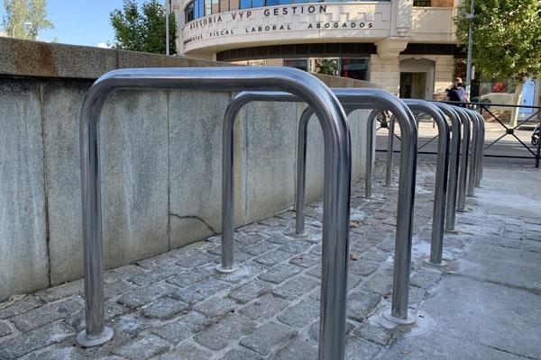 Majadahonda instala 62 nuevos aparcabicicletas y fomenta el uso de la bici