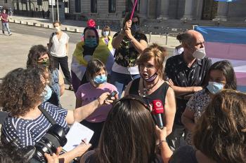 """Varios representantes de colectivos trans han denunciado """"el rugido de la caverna"""" de sectores progresistas"""