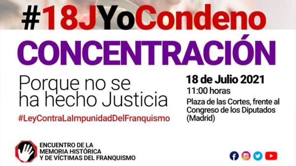 La plataforma Encuentro Estatal de Colectivos de Memoria Histórica y de Víctimas del Franquismo busca hacer justicia