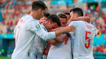 La Roja ha logrado pasar a octavos con cinco goles contra Eslovaquia