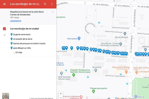 Los vecinos reproducirán los poemas de los autores que dan nombre a las calles de Alcobendas
