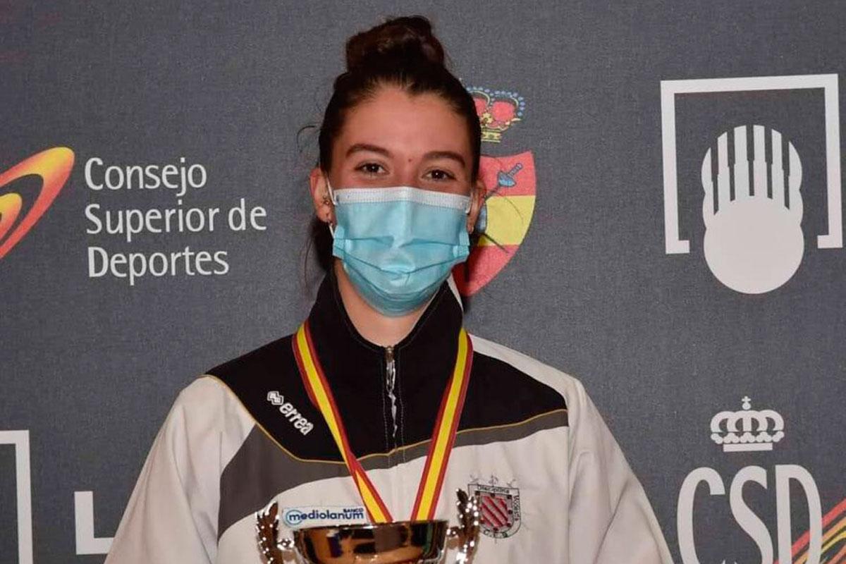Nuestras deportistas volvieron a brillar en el Campeonato de España de Esgrima
