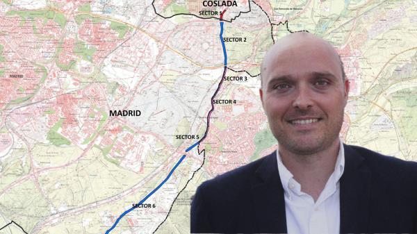 Markel Gorbea entra en el gobierno regional para dignificar esta zona madrileña