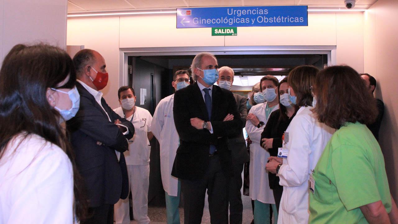 Se han ampliado las Urgencias Pediátricas y Obstétricas, así como en el área de extracciones del Laboratorio Clínico