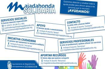 Dentro de estas ayudas los vecinos pueden canjear un cupón 100 a 225 euros en un supermercado de la localidad contratado por el Ayuntamiento