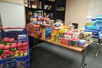 Se han recolectado alimentos no perecederos, artículos de higiene y pañales de bebé