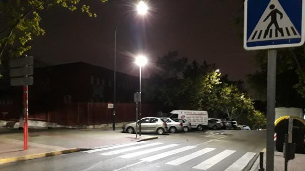 Sanse invierte 14.000€ en tecnología led para los pasos de peatones