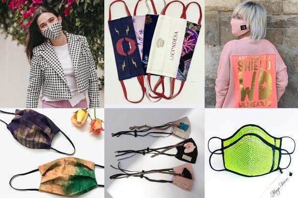 Diseños de mascarillas arrasan en las ventas de marcas de moda