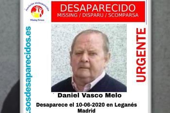 Se pide colaboración para encontrar a Daniel Vasco de 83 años