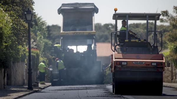 Llega la mayor operación de asfaltado en la historia de Las Rozas