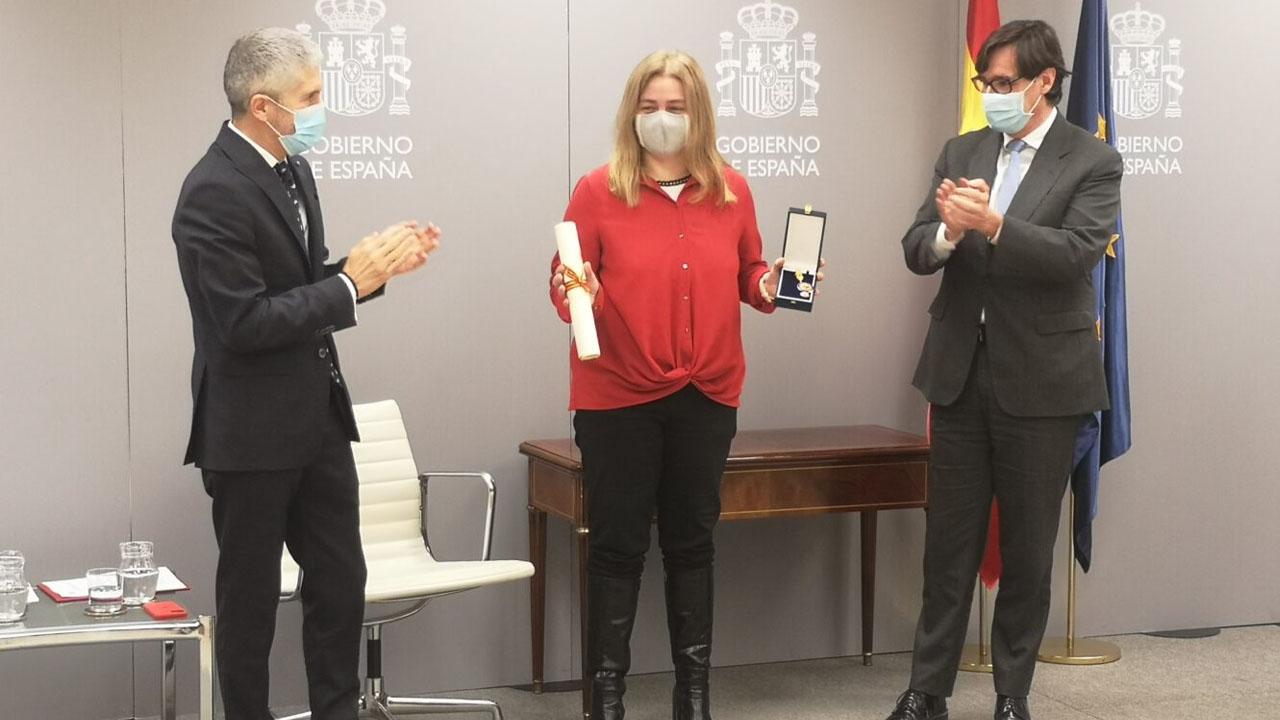 Madrid Salud recibe este reconocimiento de la mano de Illa