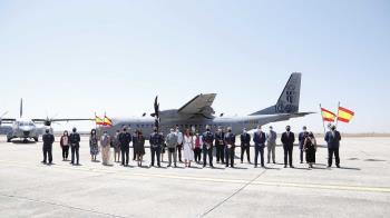 La Base Aérea de Getafe recibe la Medalla de Oro de la Ciudad en su centenario