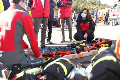Lee toda la noticia 'Médicos del SUMMA 112 se incorporan al helicóptero de rescate del GERA'