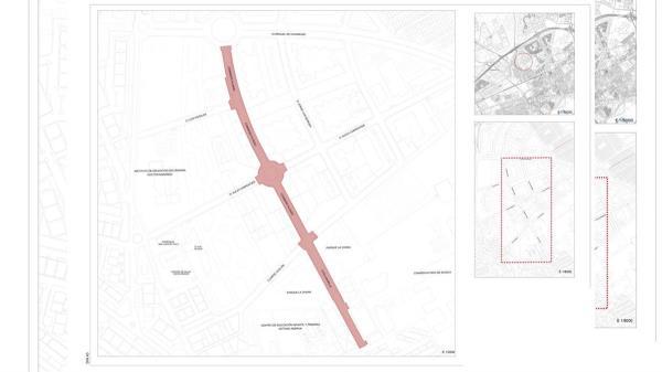 Este trabajo es parte de la inversión de 900.000 euros destinado a la reforma y rehabilitación de las vías públicas