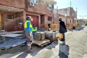 Las obras en las calles León XIII y Almería están  a punto de concluir