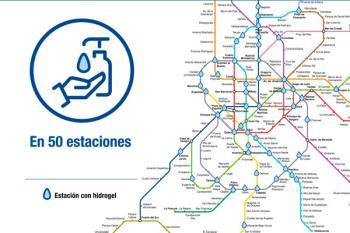 La Comunidad de Madrid los ha instalado en las 50 estaciones más transitadas de la región