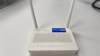 El consumo del router Wifi es de 3,8 kWh mensuales frente a los 21 kWh de una lavadora